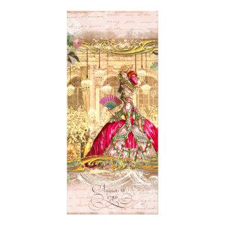 Marie Antoinette at Versaille Custom Rack Cards