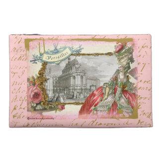 Marie Antoinette at Versailles Collage Art Bagette Travel Accessory Bag