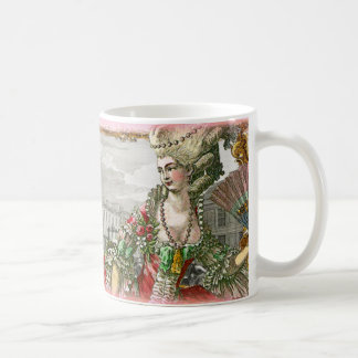 Marie Antoinette at Versailles Palace Mug