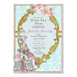 Marie Antoinette Bridal Shower Invitation