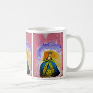 Marie Antoinette by Michael Moffa Basic White Mug