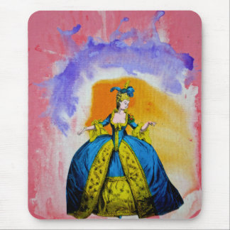 Marie Antoinette by Michael Moffa Mouse Pad