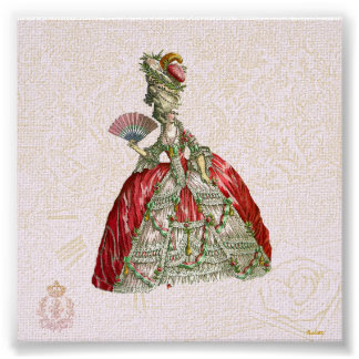 Marie Antoinette Canvas Giclee Poster