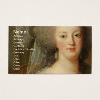 Marie Antoinette & Children Le Brun Fine Art Business Card