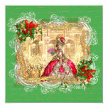 Marie Antoinette Christmas Versailles Invitation