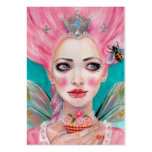 Marie Antoinette Cupcake Faerie - Queen Bee Pack Of Chubby Business Cards