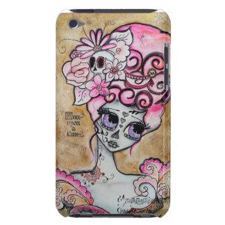 Marie Antoinette Dia de los Muertos Case-Mate iPod Touch Case