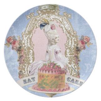 Marie Antoinette-Eat Cake...plate Plate