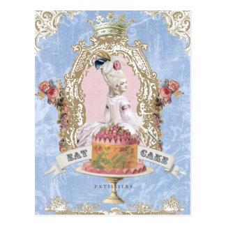 Marie Antoinette-Eat Cake...postcard Postcard