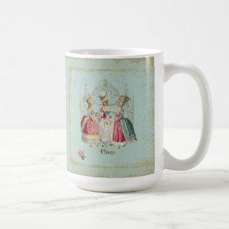 Marie Antoinette French Paris Ladies Basic White Mug