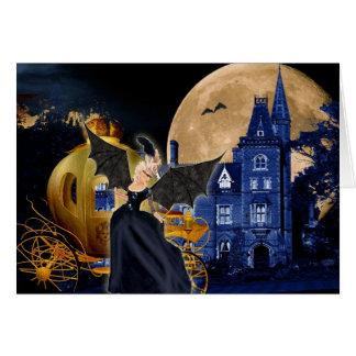 Marie Antoinette Halloween Masquerade Card
