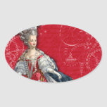 Marie Antoinette Holiday Stickers