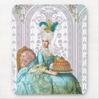 Marie Antoinette in Aqua Mouse Pad
