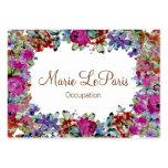 Marie Antoinette in Flowers ~ Business Card