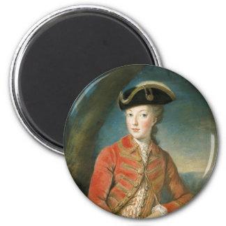 Marie Antoinette in Hunting Attire by Krantzinger Magnet