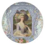 Marie Antoinette in Lavender Dinner Plate