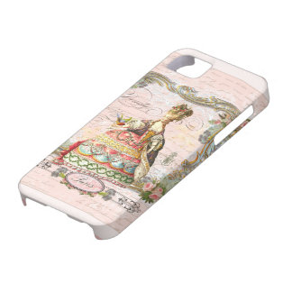 Marie Antoinette in Pink Barely There iPhone 5 Case