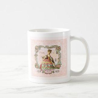 Marie Antoinette in Pink Basic White Mug
