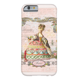 Marie Antoinette in Pink Barely There iPhone 6 Case