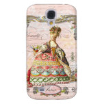 Marie Antoinette in Pink Paris Case Samsung Galaxy S4 Cover