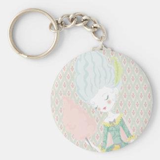 Marie Antoinette Keychan Key Ring