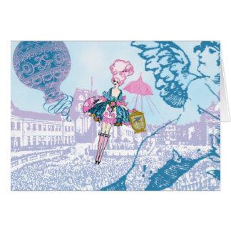 Marie Antoinette la Libertine Card