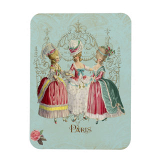 Marie Antoinette Ladies Magnet