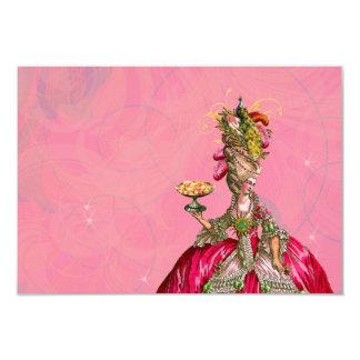 Marie Antoinette Let Them Eat Cake 9 Cm X 13 Cm Invitation Card