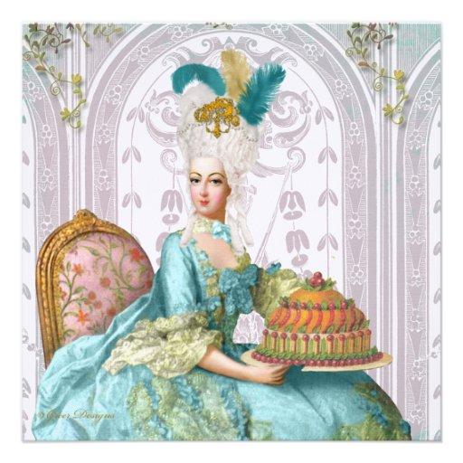 Mary Antoinette Let Them Eat Cake