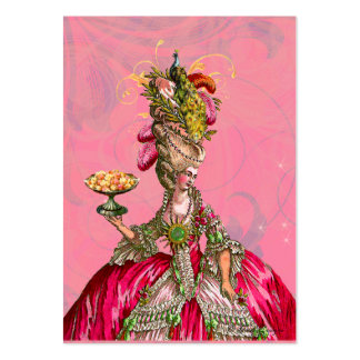 Marie Antoinette Let Them Eat Cake Business Card