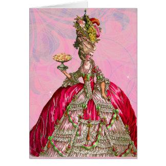 Marie Antoinette Let Them Eat Cake Greeting Cards