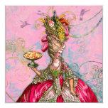 Marie Antoinette Let them Eat Cake Personalised Invitation