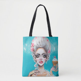 Marie Antoinette Let them eat cupcake Mini Tote Bag