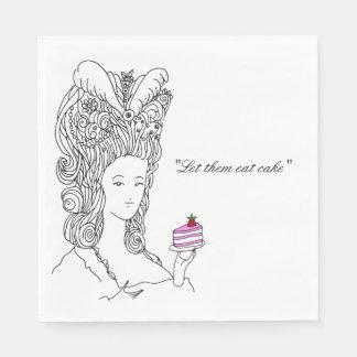 Marie Antoinette Napkin Paper Napkins