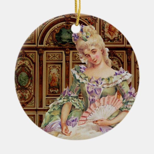 Marie Antoinette Ornament Christmas