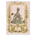 Marie Antoinette Peach Stationery Pour Cerises Greeting Cards
