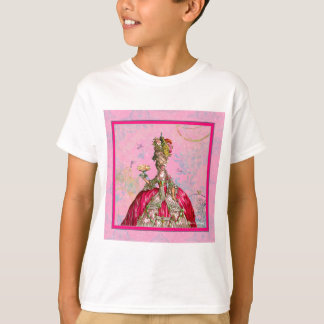 Marie Antoinette Peacock and Cake T-Shirt
