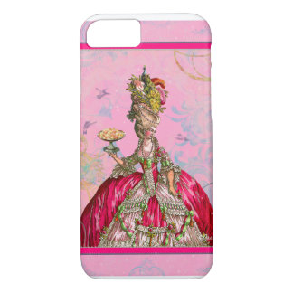Marie Antoinette & Peacock iPhone 8/7 Case