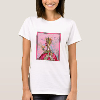 Marie Antoinette Peacocks and Cakes T-Shirt