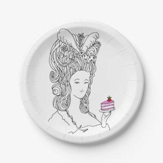 Marie Antoinette Plate