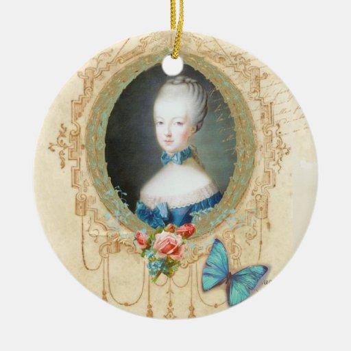 Marie Antoinette Portrait Christmas Ornament