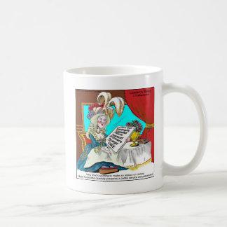 Marie Antoinette Public Service Announcement Funny Classic White Coffee Mug
