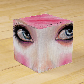 Marie Antoinette Queen Bee - let them eat cupcake Favour Box