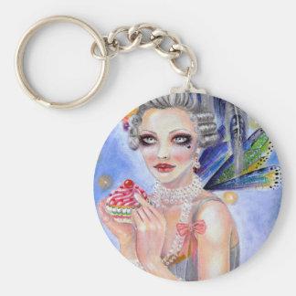 Marie Antoinette - Queen of Cupcakes Key Chain