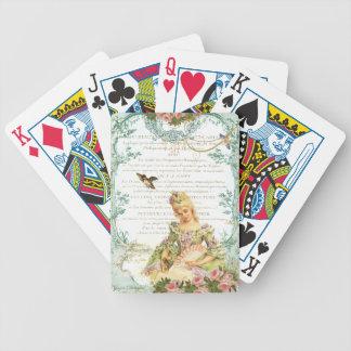 Marie Antoinette & Sparrow Bicycle Poker Deck