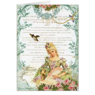 Marie Antoinette & Sparrow Cards