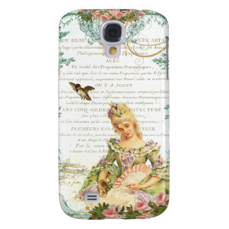 Marie Antoinette & Sparrow Galaxy S4 Cover