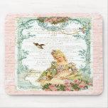 Marie Antoinette & Sparrow Mouse Mat