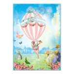 Marie Antoinette Tea at Versailles Lawn Party 13cm X 18cm Invitation Card