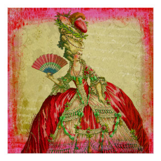 Marie Antoinette Versailles Collection Lg. Poster